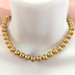 NAPIER Gold Beads on Chain